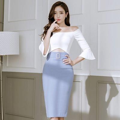 ワンピース 総 パーティーワンピース 韓国ファッション オルチャンファッション パーティーワンピース 二次会 オルチャン 結婚式 レディース ワンピース パーティ パーティードレス フレア
