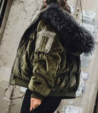 レディース コートジャケット ゆったり パンジャケット 棉服 秋冬