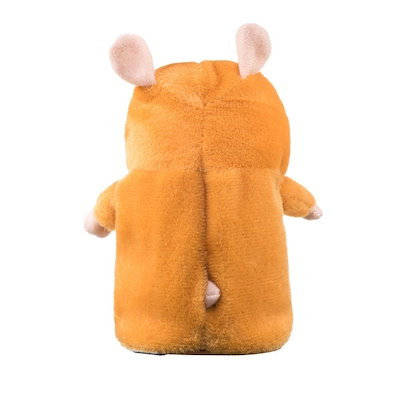 BABY TODDER  Hamster Talking Speak Sound Record Repeats Plush Animal Child Educational Toy  INTELLIG