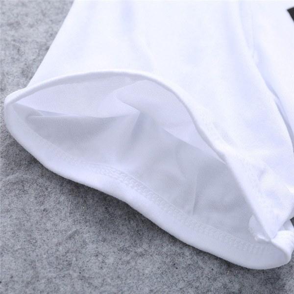 カジュアル夏の女性プレーントップスプルオーバー半袖OネックKILLIN ITプリントベアミドリフTシャツF