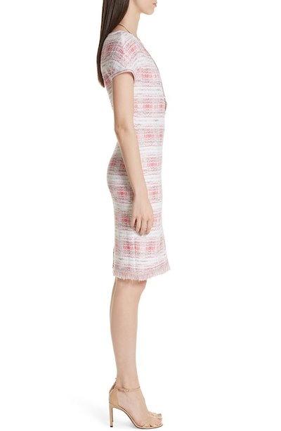 セント ジョン コレクション レディース ワンピース トップス St. John Collection Becca Knit Short Sleeve Dress