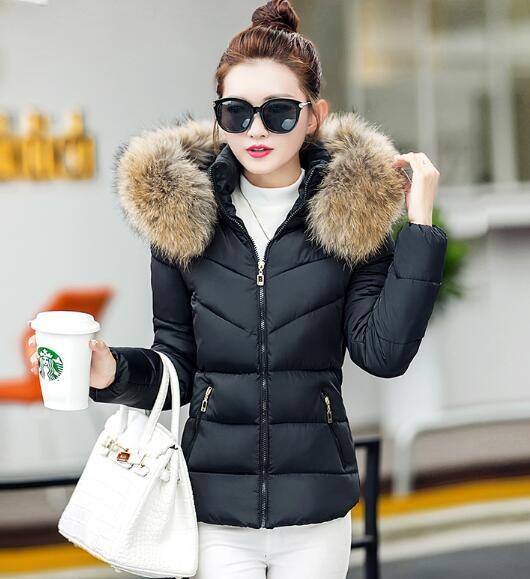 2017年秋冬 韓国ファッション ロングダウンコート スリムアウター ダウンジャケット風ロングアウタレディース ダウン ダウン
