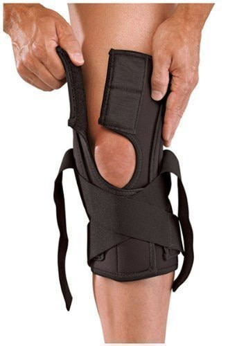 Mueller(ミューラー) ユニセックス 膝 サポ-タ- 左右兼用 ラップアラウンド ニーブレイス デラックス Mサイズ  50112