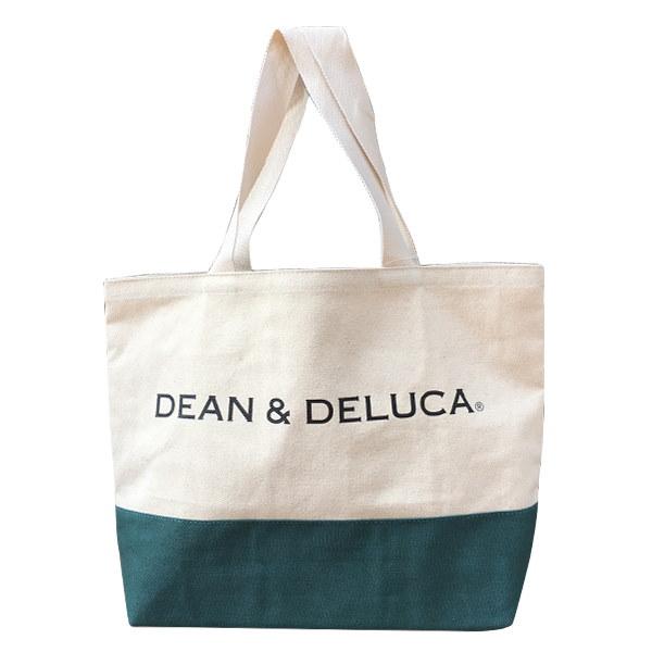 新品入荷!安心の国内配送 DEAN&DELUCA dean&delucaディーン&デルーカ 収納力抜群で丈夫なバッグ  キャンバス トート トートバッグ エゴバッグ 4色