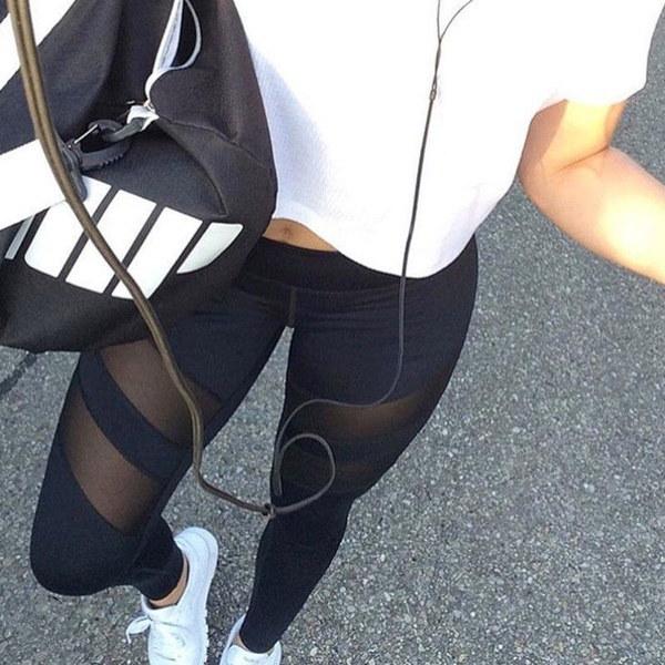 レディースレディースランニングヨガフィットネスレギンスジム運動スポーツズボンズボン