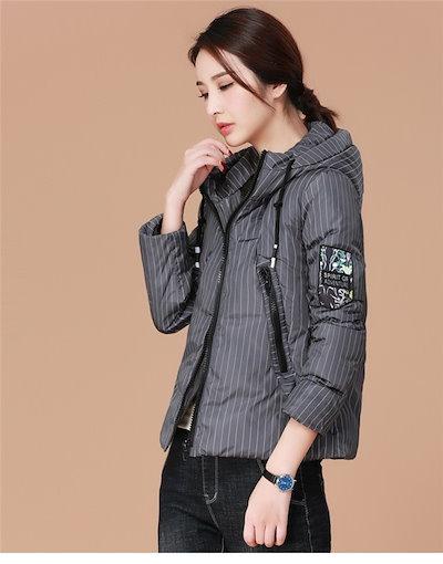 ダウンコート レディース ダウン 韓国ファッション ジャケット アウター ショート丈 ゆったり 冬 秋 カジュアル トップス 女性 中綿 安い 可愛い 暖かい きれい