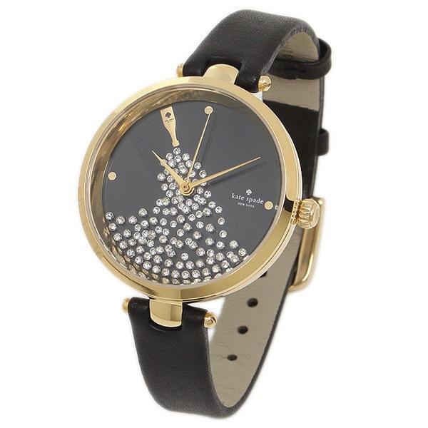 ケイトスペード 時計 アウトレット KATE SPADE KSW1234 HOLLAND ホーランド レディース腕時計ウォッチ ゴールド/ブラック