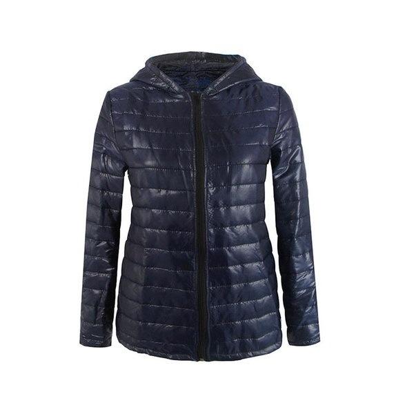 2017新しい秋冬の女性のフード付きの首輪のショートコートはスリムコットンパッドジッパージャケット風