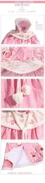 The newborn baby warm underwear suits baby clothes box