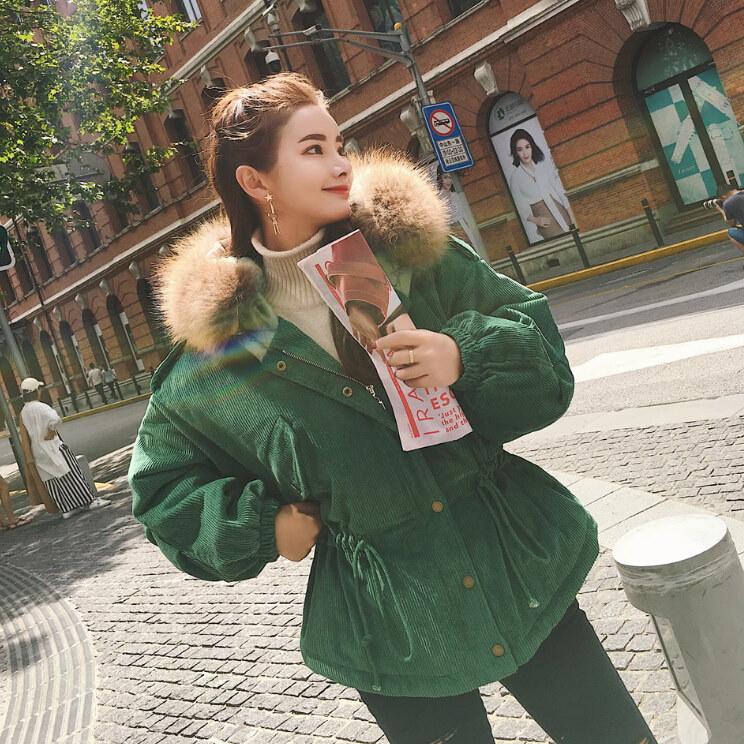 【送料無料】★★ZAKKA★★ 大人気 新型 韓国ファッション  レディース服/ダウンコート/ダウンジャケット/ショートコート/コットン/大きいサイズ/ブラウス