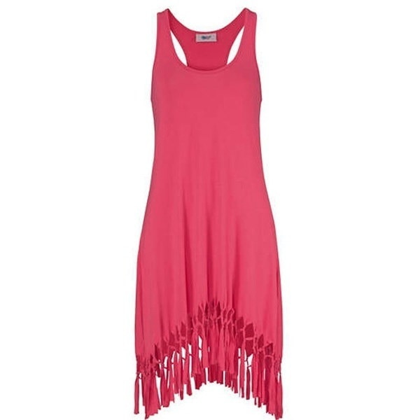 セクシーな女性の夏のカジュアルノースリーブイブニングパーティビーチドレスショートミニドレス