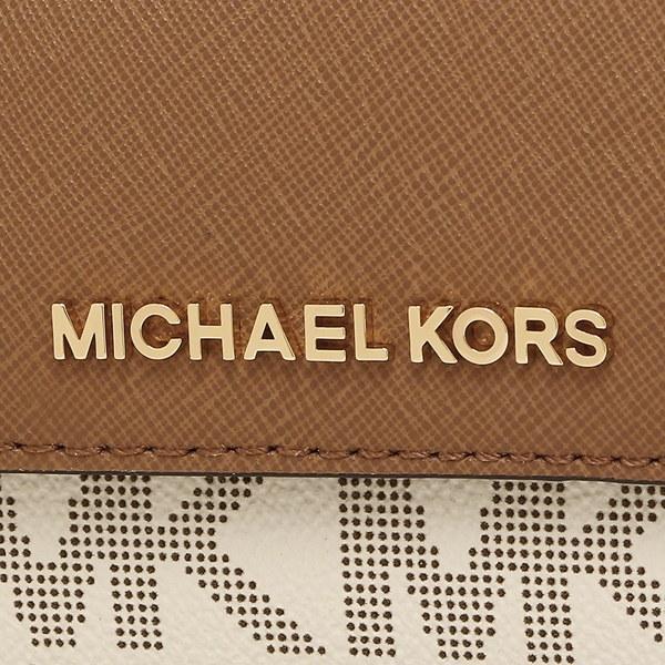 マイケルコース カードケース アウトレット MICHAEL KORS 35F7GTVD2B JET SET TRAVEL CARD CSE ID KEY HLDR 定期入れ・パスケース VANILLA
