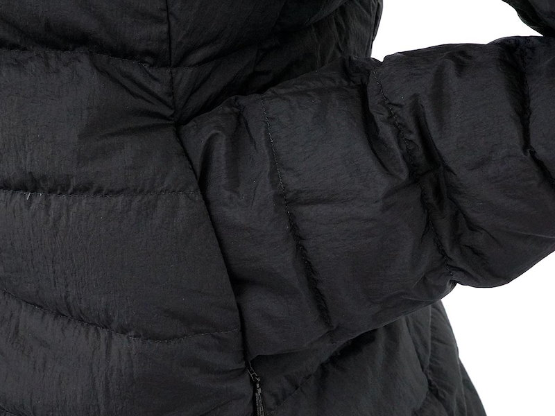 TATRAS タトラス ダウンジャケット 2017年秋冬新作 LTA18A4635 ROBINIA 19 BLACK ブラック リバーシブル ロング レディース [ レディース   ダウンジャケット