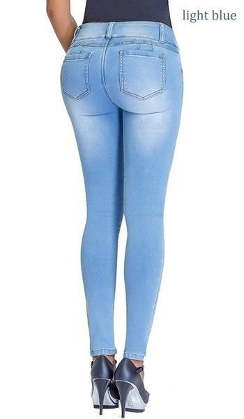 ファッションシェイプウェア女性バットリフトジーンズスキニーパンツ