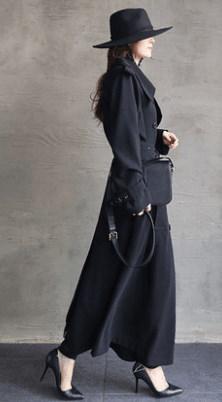 レディース コート ジャケット 薄手 アウター ロング ファッション カジュアル ゆったり 春秋
