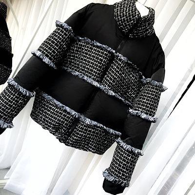 韓国ファッション冬  厚手 ハイネックレディース服 コート 韓国 コート N252
