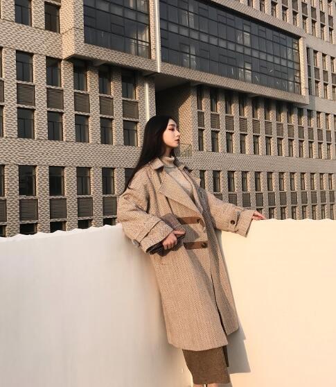 ラシャコート レディース ロングコート 通勤オフィス 大きいサイズ ファッション 暖か