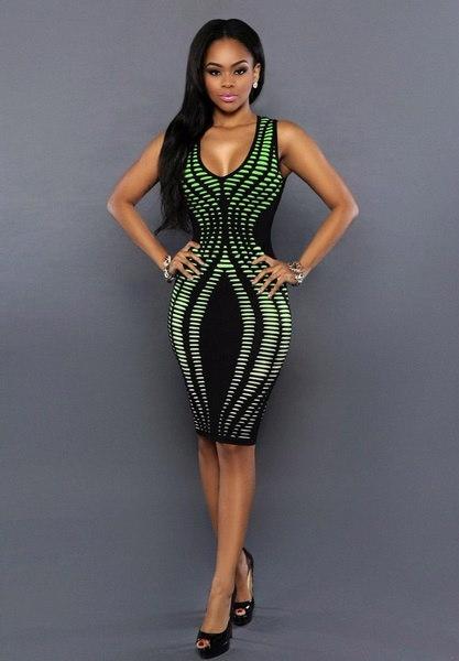 新しいファッションナイトクラブセクシーなタイトヒップパッケージスカートバンデージワンピースドレス