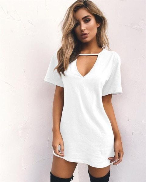 ファッション女性のstシャツ新しいブランドルーズTシャツ夏のブラウストップカジュアルシフォンプリント女性トップス