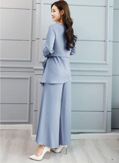 結婚式のパンツスタイル 結婚式 パンツドレス パーティードレス パンツスタイル パンツ K580