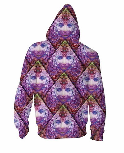 Purple Wowie Zip-Up Hoodie trippy psychedelic 3d Print Hoodies Women Men Sport Tops Jumper Sweatshir