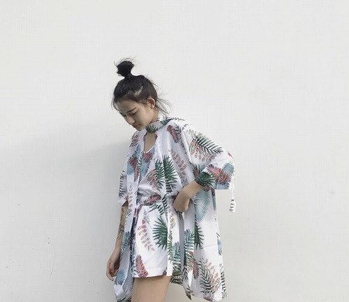 リチャオ2017♪NEW【海外買付】シンプルスタイル 混ざる 長袖 ボレロ  全2色 june-chic-008【ca】アウター ポンチョ