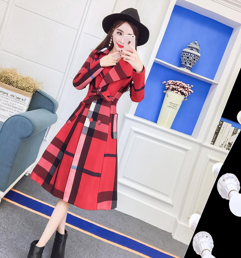 [55555SHOP]★ ティベン・ニットフード、ロングコート / おしゃれなシルエットのファッションコーデー提案!ハイクォリティー/韓国ファッション/オフィス