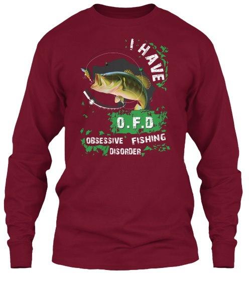 私は強迫観念の釣り障害を持っています2017ギルタンロングスリーブティーTシャツ