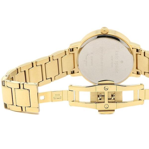 ケイトスペード 時計 KATE SPADE KSW1072 GRAMERCY MOON PHASE COCKTAIL グラマシー レディース腕時計ウォッチ ホワイト/ゴールド
