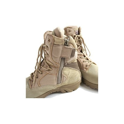 """アメリカ軍 サイドジッパブーツ/靴 〔 7W/25cm 〕 特殊部隊""""DE LTA""""モデル FB047YN サンド 〔 レプリカ 〕"""