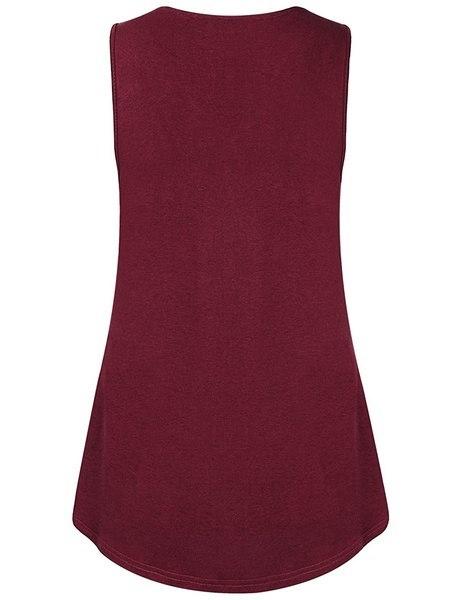 女性のソフト&コンパスレースVネックシャツプリーツフローニットタンクトップZJ4101