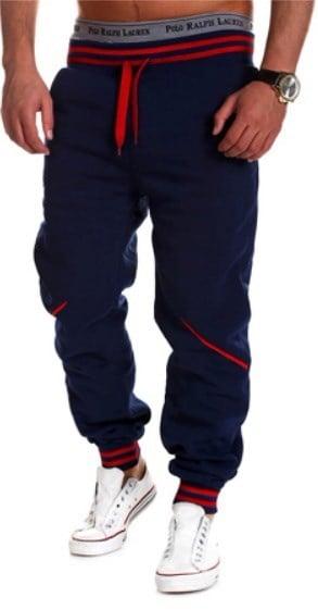 韓国人男性のファッションカジュアルルーズスポーツズボン