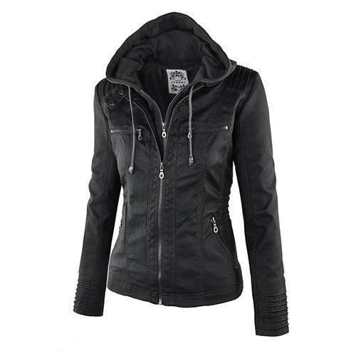 New Arrival Plus Size Women Fashion Autumn Winter Coat Jacket Long Sleeve Zipper New Women s Stylish