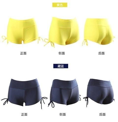 女性ビーチサーフィンショートパンツサマーレディーススイミングスポーツショートパンツ