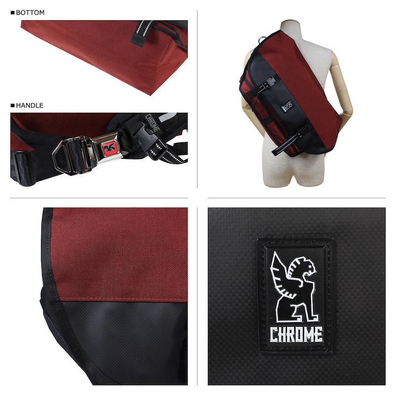 クローム メッセンジャー バッグ CHROME ショルダーバッグ BG-002 CITIZEN ブリック メンズ レディース