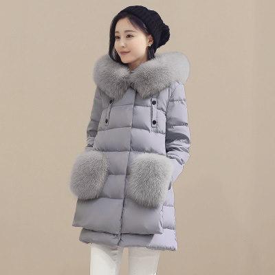 2016ウルトラプラスサイズ90%ホワイトダックダウンパーカジャケットコート女性スーツ暖かい毛皮の襟フード付きの女性のS冬のジャケットWuj0637