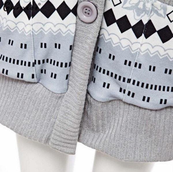 女性のカジュアル冬の厚いロングスリーブファッションカシミヤジャケットカーディガンコートニットコート