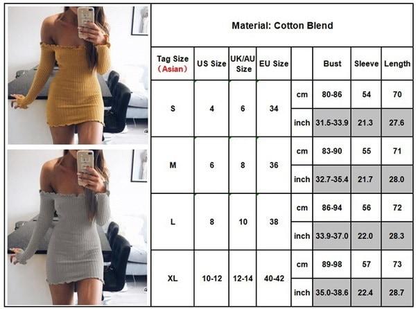 秋ファッションオフショルダー女性ストラップレスドレス長袖タイトボディ彫刻パッケージヒップミニ