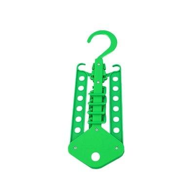 ヤヨー!4色デュアルハンガー衣類折りたたみハンガーラックコートオーガナイザー折り畳み式クローゼット