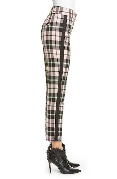 ヴェロニカ ベアード レディース カットソー トップス Veronica Beard Gemini Plaid Crop Trousers