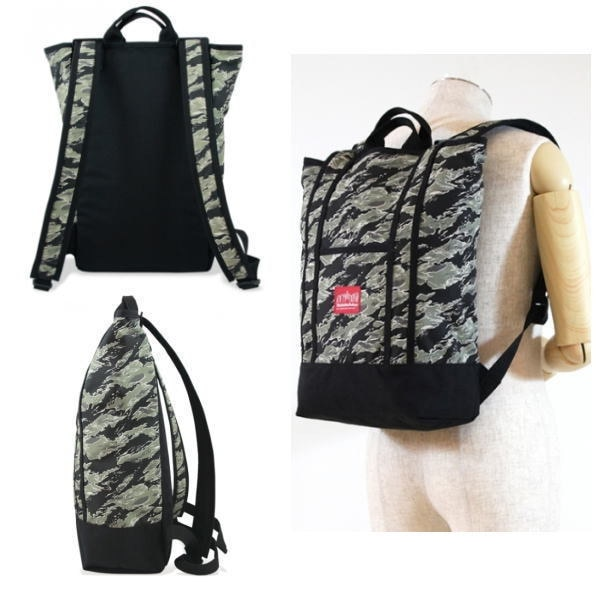 【送料無料】 マンハッタンポーテージ 限定 バックパック Manhattan Portage Tiger Stripe Camo Riverside Backpack 1318TSCバッグ かばん 鞄【OJOJ-08hlfp】●