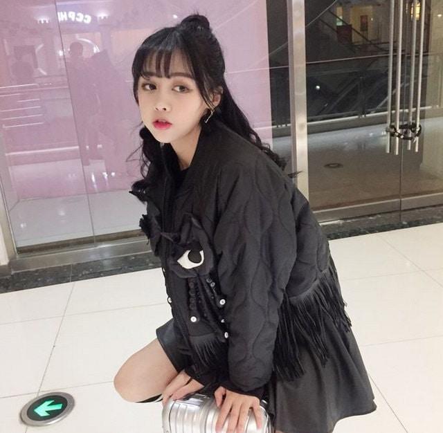 新作アバレル★激安★カジュアル★フリンジ★キルティング★ジャケット