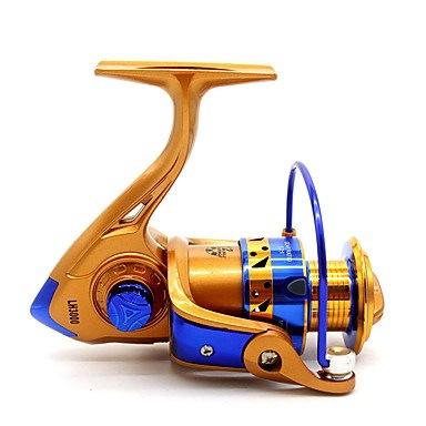 釣りリールスピニングリール5.2:1 12ボールベアリング右利き一般釣り -  LH3000