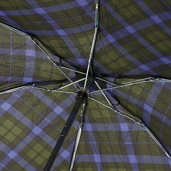 トーツ 傘 totes 8374 B66 TOTES LINE ミニ 手動開閉 晴雨兼用 折りたたみ傘 アンブレラ GREEN/BLUE