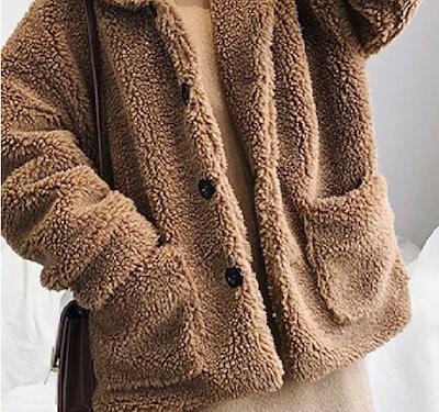 冬の大人気アイテム もこもこボアジャケット