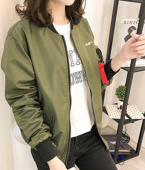 リチャオ2017♪冬HOT☆品質自信あり  ゆったり ジャケット  全2色 7sept-chi-1814【ca】アウター ジャケット ショート丈