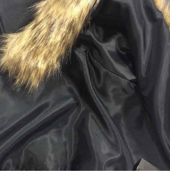 2017 Autunm Winter New Europe米国ウォームレザーファーカラージャケットレザーレディースアウトレット