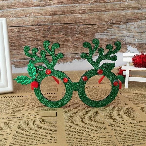 クリスマスオーナメントメガネフレーム装飾イブニングパーティーおもちゃキッズギフトNewlife Stylese