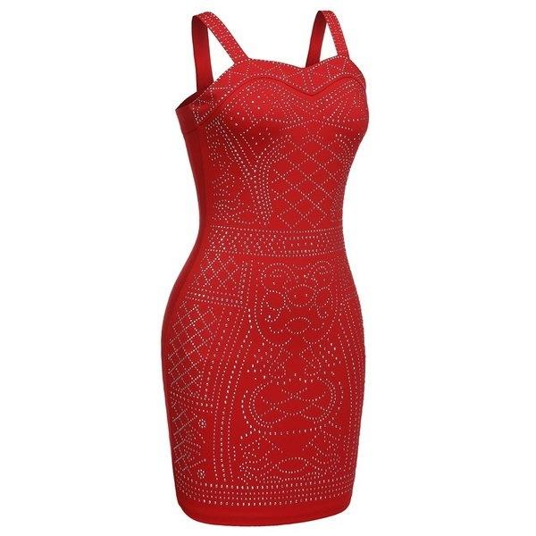 レディースノースリーブセクシーストレッチボディコンスパンコールパーティーイブニングドレス