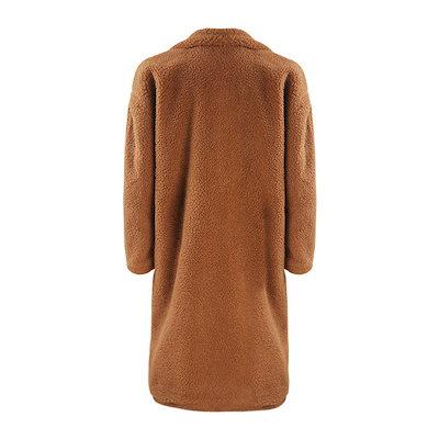 カシミヤ セレブ風 ロングコート コート レディース アウター 無地 シンプル 秋 冬 ダブルポケット